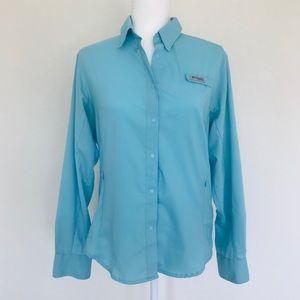 Columbia PFG Sportswear Button-up Shirt Size Med